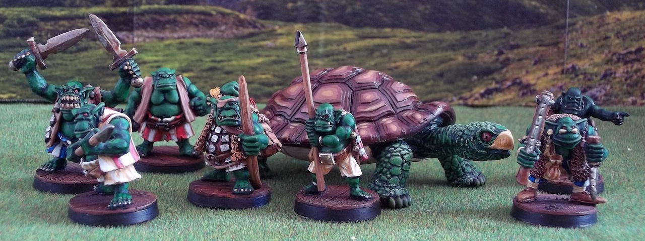 Tortue et orcs pirates