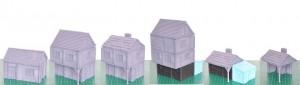 Exemples de maisons imprimées en 3D